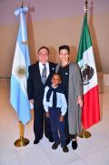 Más de 1.200 personas celebraron en México el Bicentenario en el emblemático Museo Soumaya
