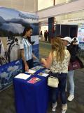 La Embajada participó con un stand de la Feria Expo Destinos