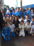 Loli Molina se presentó en la Escuela República Argentina del Centro Histórico
